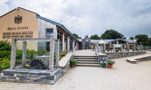Rhug Estate Organic Farm Shop, Corwen
