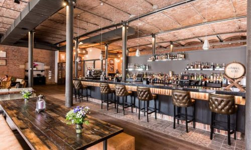 Rum Bar at Titanic Hotel, Liverpool