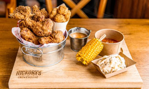 Indulge with the BIG chicken bucket