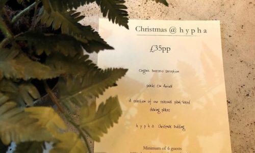 Christmas at Hypha