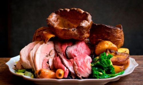A great Sunday Roast in the heart of the Cheshire countryside
