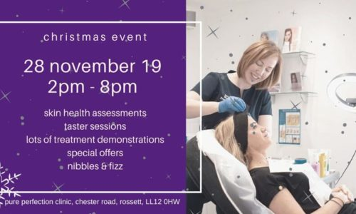 Christmas Event at Pure Perfection – how to look your best for the festive season
