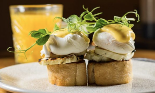 Brunch is always the answer! Check out the new 90 minute Brunch at Olive Tree Brasserie