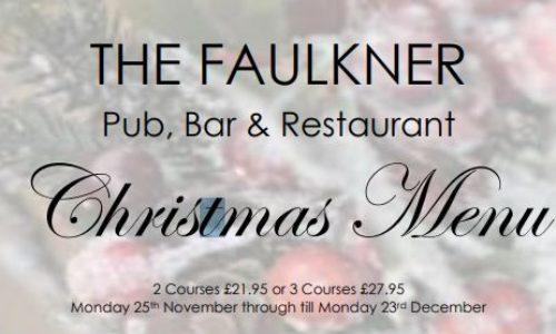 Christmas Menu at The Faulkner