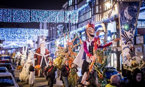 Winter Watch Parade in Chester city centre