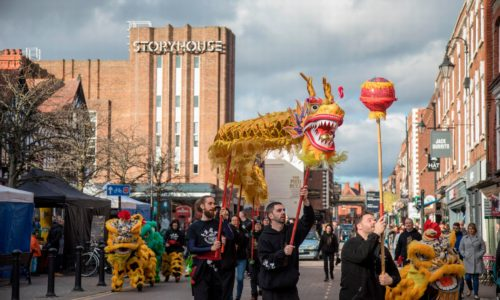 Celebrate Chinese New Year in Chester city centre