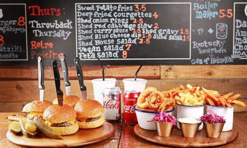 It's Fri-Yay at Burger Shed 41!